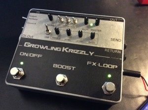Growling Krizzly Deluxe
